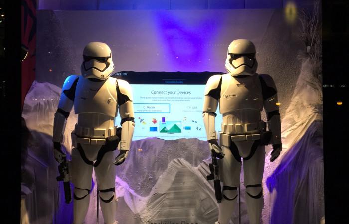 Star Wars at Bloomingdale's