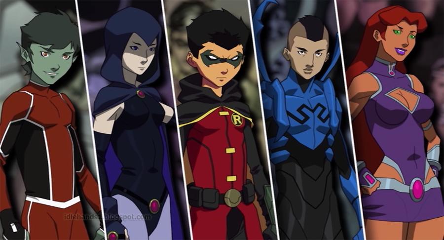 Review: Justice League vs Teen Titans