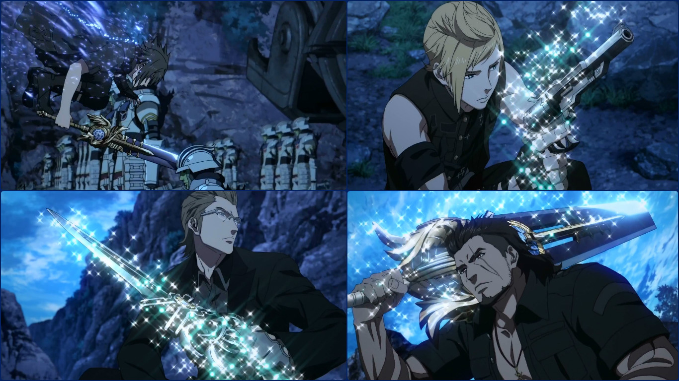 Brotherhood In Arms Final Fantasy Xv Anime The Mass Invasion